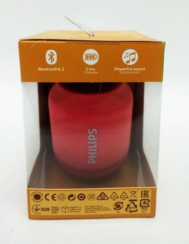 parlante portatil bluetooth philips bt51 2w color rosa