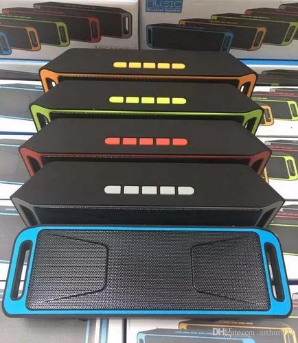 parlante portatil bluetooth usb sd megabass a2dp stereo k812