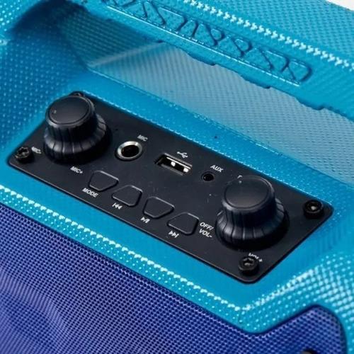 parlante portatil color strom kazz blue usb 15w cyber monday