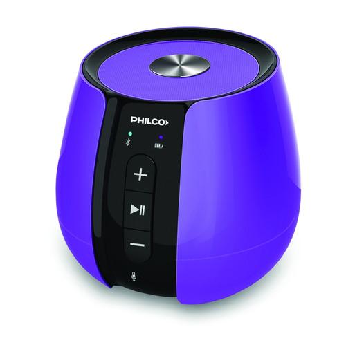 parlante portátil con bluetooth philco sph99v