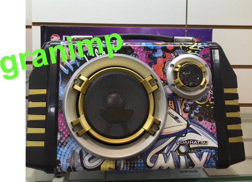 parlante portatil daihatsu usb recargable ds425t bluetooth