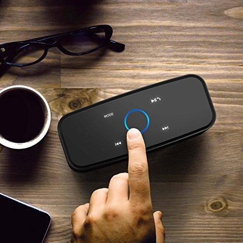 parlante portátil doss touch bluetooth v4.0 con sonido hd