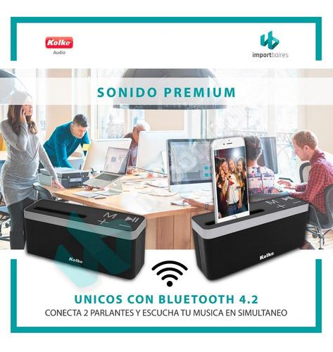 parlante portatil flip 4 bluetooth 4.2 iphone micro usb gtia