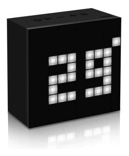 parlante portátil inalámbrico bluetooth divoom aurabox led