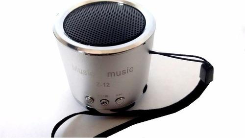 parlante portatil inalambrico recargable radio fm