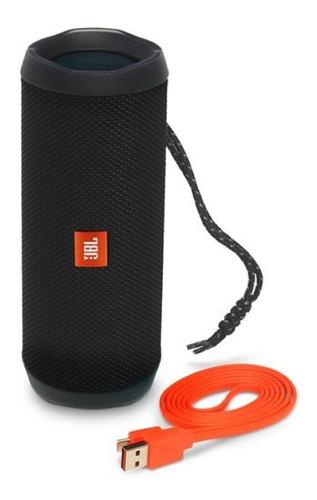 parlante portatil jbl flip 4 bluetooth 2x8w black