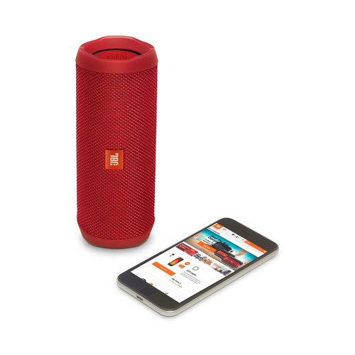 parlante portatil jbl flip 4 bluetooth android iphone rojo