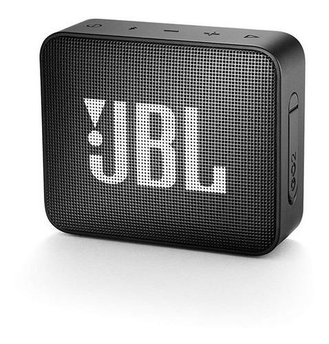 parlante portátil jbl go2 bluetooth black          zonatecno