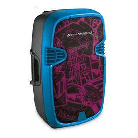 Parlante Portátil Jiggy Bluetooth Carrito Stromberg 60w