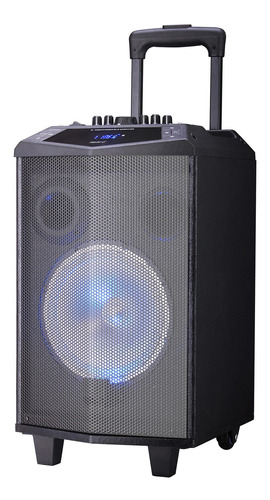 parlante portátil karaoke bluetooth t8d master g + micrófono