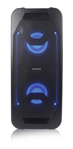 parlante portátil karaoke pedestal aiwa aw-pok6 - vc