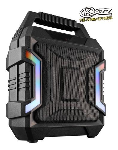parlante portatil kazz army bluetooth batería 20w