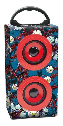 parlante portátil kazz top bluetooth 10 w rms 1516