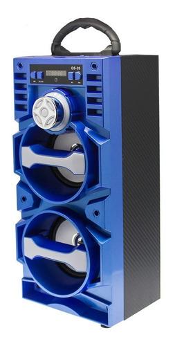 parlante portatil malibu bluetooth cuotas mundo moda qs 20b impc