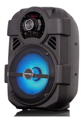 parlante portatil maxtron urban 8 bluetooth karaoke fm usb