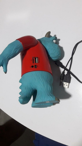 parlante portatil monster inc sullivan usb msd mp3