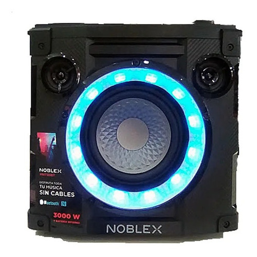 parlante portatil noblex mnt90bt bluetooth 2000 watts