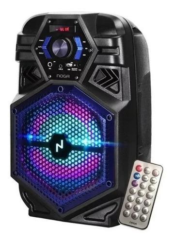 parlante portátil noga ng bt800 karaoke bluetooth usb fm 6pa
