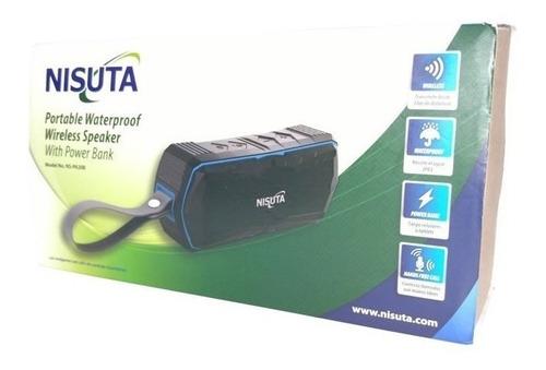 parlante portatil (nspa20b) inalambrico exterior power bank