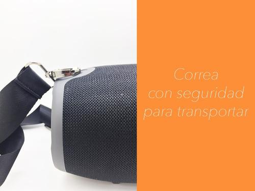 parlante portátil potencia 10w bluetooth usb radio fm