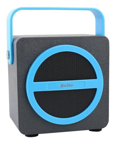 parlante portatil recargable bazooca kolke kpm-194 bluetooth
