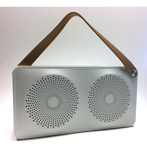 parlante portatil speed speaker bluetooth usb plateado aiwa