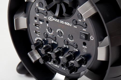 parlante portátil stromberg ds-60dj bluetooth recargable
