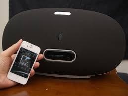 parlante portatil, wifi, air play marca denon. hi fi
