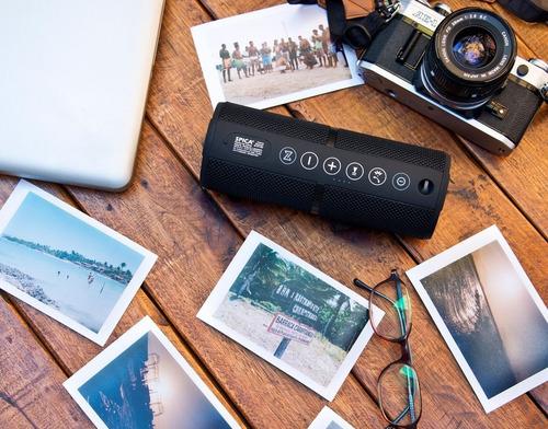 parlante premium bluetooth portatil spica resistente agua