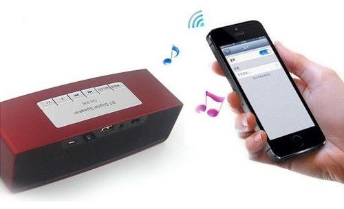 parlante radio contestador celular mp3 bluetooth m-306