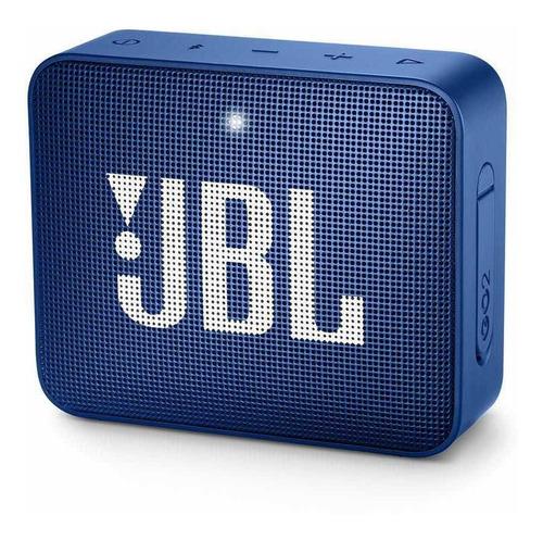 parlante recargable bluetooth jbl go2 azul go 2 waterproof