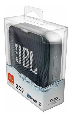 parlante recargable bluetooth jbl go2 negro go 2 waterproof