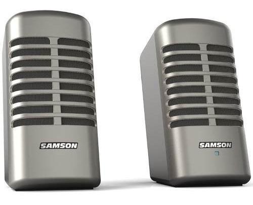 parlante samson mrtrspe monitores multimedia