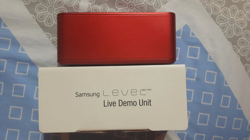 parlante samsung level box mini rojo