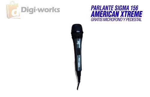 parlante sigma 156 american xtreme 50000 watts