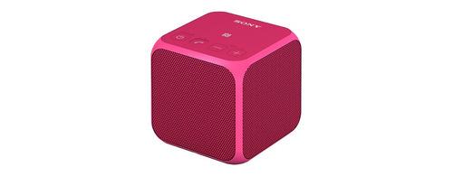 parlante sony bluetooth inalámbrico portátil srs-x11(rosado)