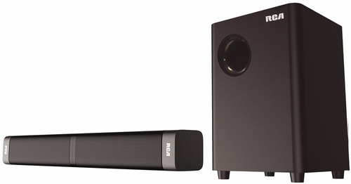 parlante soundbar desmontable rca 40w 2,1 bluetooth sb5139bt