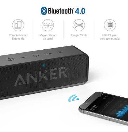 parlante speaker bluetooth soundcore anker