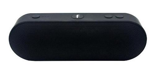 parlante speaker portátil usb bluetooth negro bt808