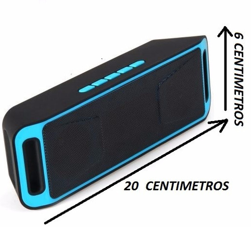 parlante speaker  usb sd micro sd radio fm bluetooh