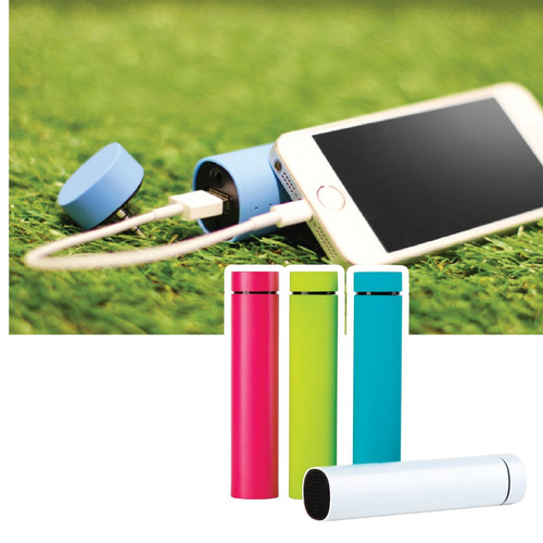 parlante speaker y cargador 4000 mah power bank