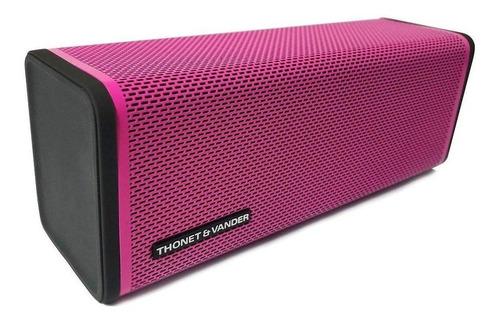 parlante thonet & vander frei portátil inalámbrico pink