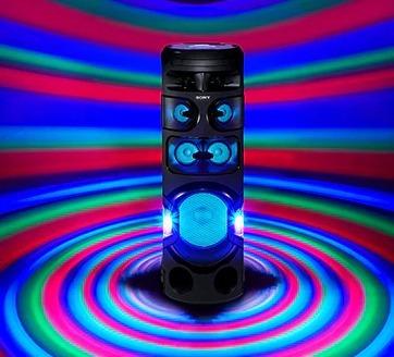 parlante torre sony mhc v81 usb bluetooth dj 360° karaoke