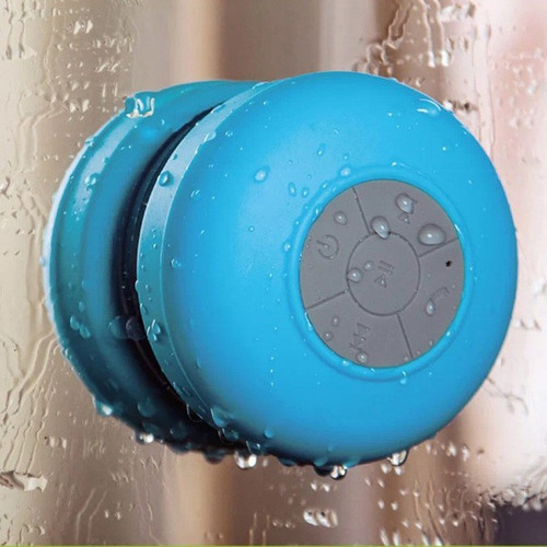 parlante waterproof  resiste agua bluetooth shower speaker