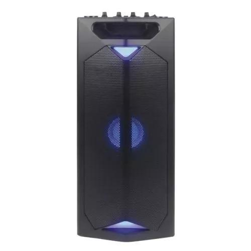 parlante winco wireless con iluminacion y mic w247