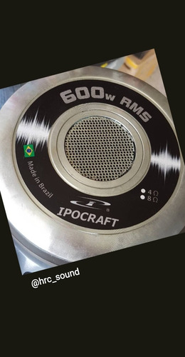 parlante woofer  12  ipocraft