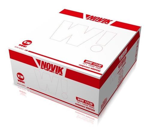 parlante woofer novik neo wow-12120 12 pulgadas 101db