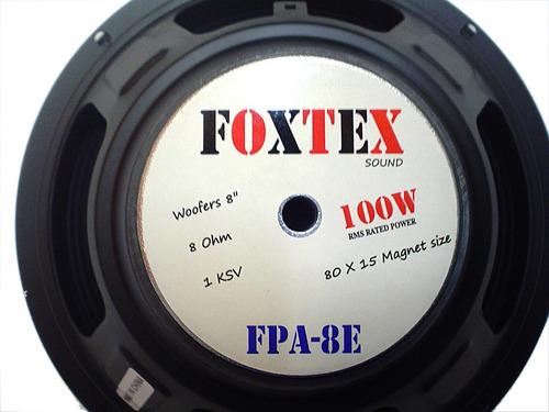 parlante woofers 8 pulgadas - marca foxtex