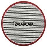 parlante yoobao ybl-202 rojo con bluetooth + radio fm