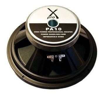 parlantes 10 pulg.x-pro pa10 150w  8 ohms aptos line array